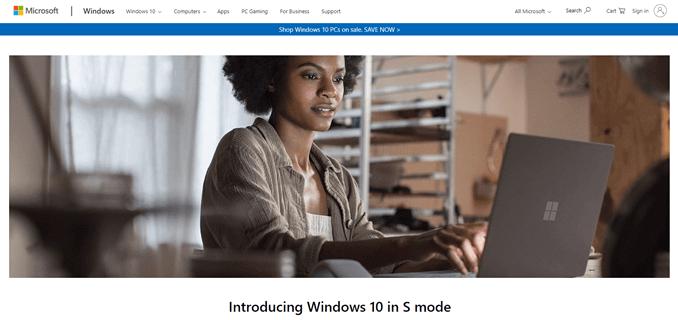 ¿Qué es «Windows 10 en modo S»?  ¿Puedo cambiarlo a Windows estándar?