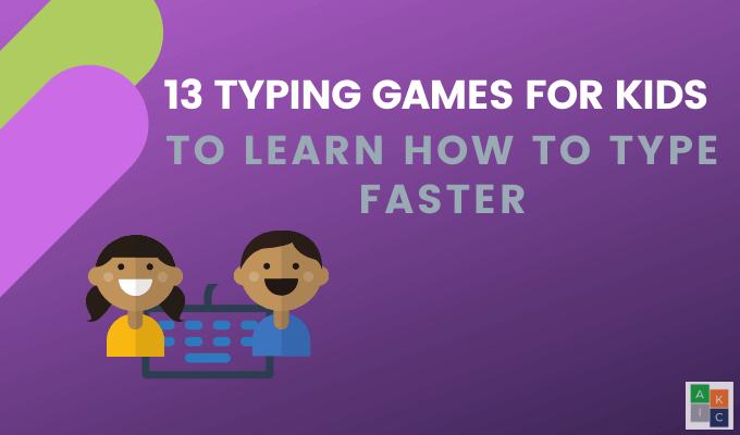 13 juegos de mecanografía para ayudar a los niños a aprender a escribir más rápido