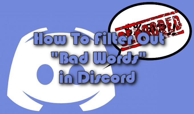 2 bots de filtro de discordia para bloquear malas palabras