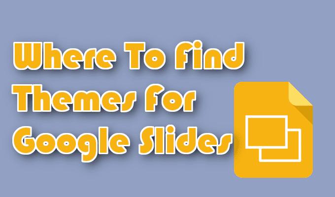 Dónde encontrar temas para Presentaciones de Google