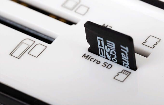 Las 3 mejores tarjetas MicroSD para comprar en 2020