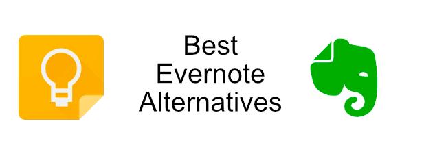 Las 6 mejores alternativas de Evernote para tomar notas