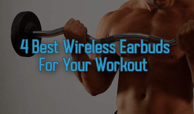 Los 4 mejores auriculares inalámbricos para tu entrenamiento