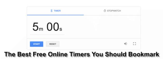 Los 7 mejores cronómetros en línea gratuitos que debe obtener