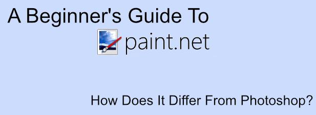 Una guía para principiantes de Paint.NET y ¿en qué se diferencia de Photoshop?