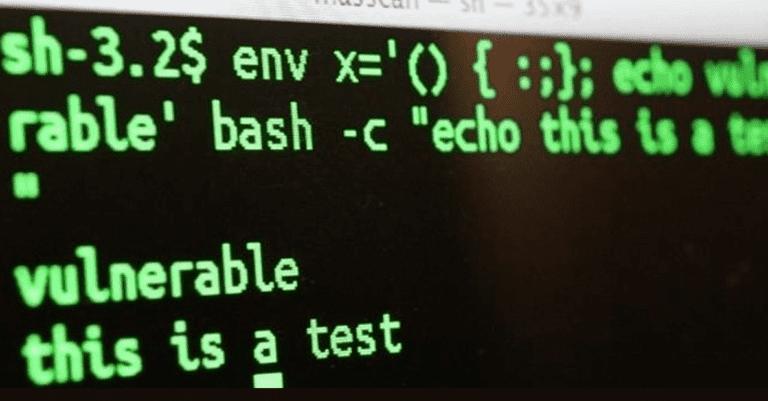 ¿Qué es la vulnerabilidad Shellshock?