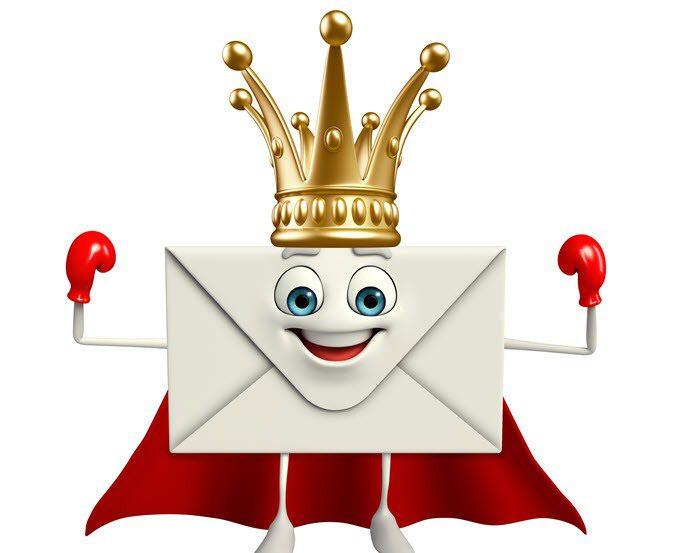 ¿Quién es el rey del correo electrónico?
