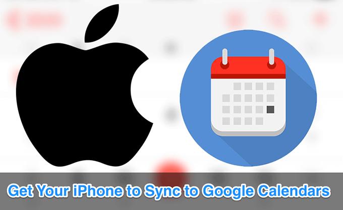 ¿iOS no sincroniza todos los calendarios de Google con el iPhone?