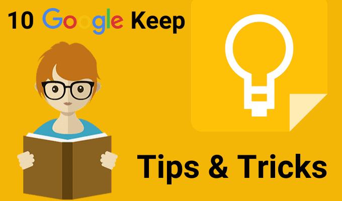 10 consejos y trucos de Google Keep para convertirse en un alumno más productivo
