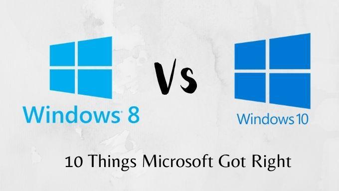 10 cosas que Microsoft hizo bien