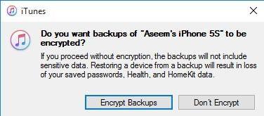 cifrar copia de seguridad