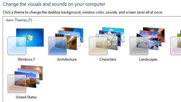 tema aero de windows 7