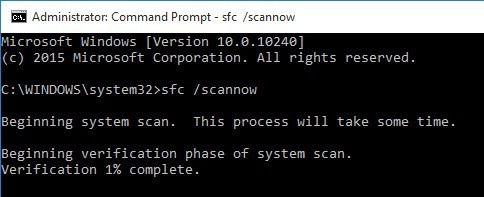 scannow sfc