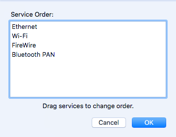 modificar la orden de servicio