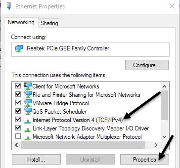 protocolo de internet ipv4