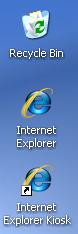 Quiosco de Internet Explorer