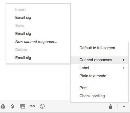 respuesta de firma de correo electrónico estandarizada
