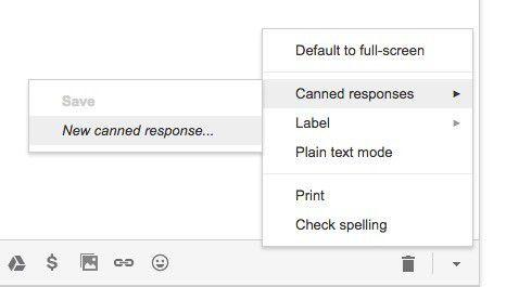 respuesta estandarizada de gmail