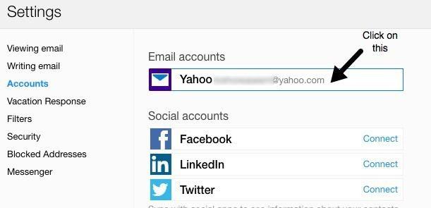 cuentas de correo de yahoo