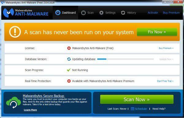El mejor software gratuito de eliminación de spyware y malware