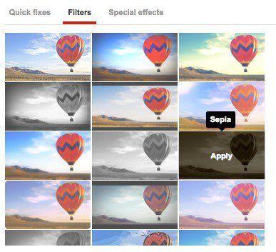 filtros de video