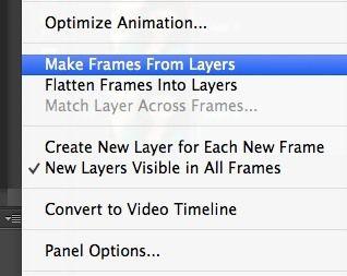 crear capas de marcos