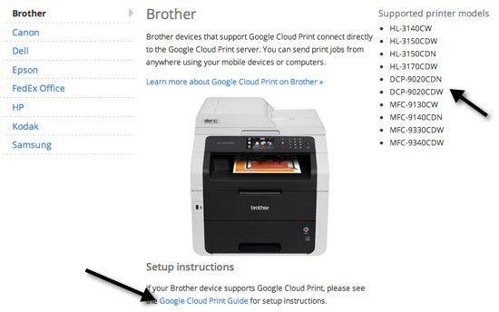 Impresoras listas para la nube