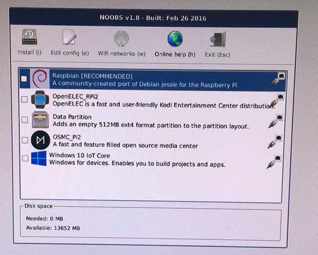 noobs instalar el sistema operativo