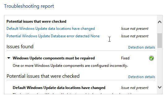 información de error detallada