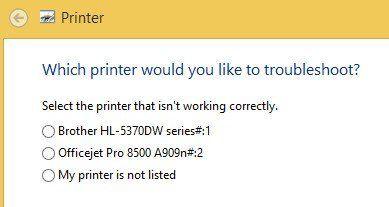 solucionar problemas de la impresora
