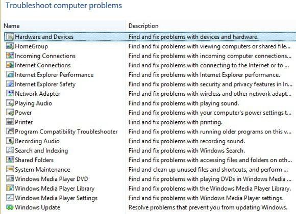solución de problemas de windows 8
