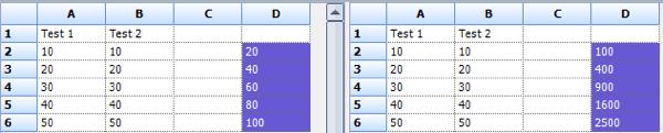 comparar dos hojas de trabajo