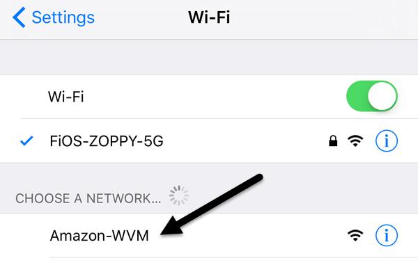 red wifi alexa