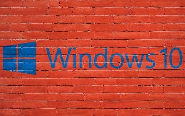 Encabezado de Windows 10