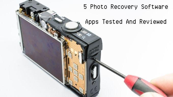 5 aplicaciones de software de recuperación de fotos probadas y revisadas