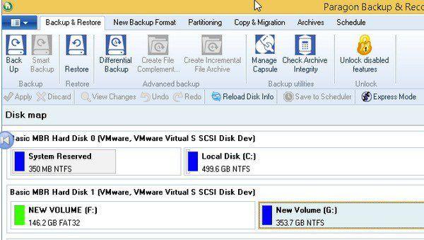 5 utilidades gratuitas de clonación / creación de imágenes de disco para Windows