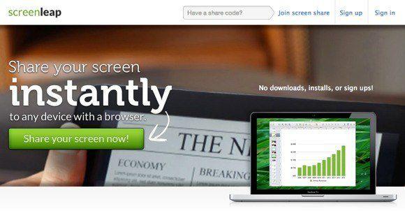 6 herramientas gratuitas para compartir pantalla en línea