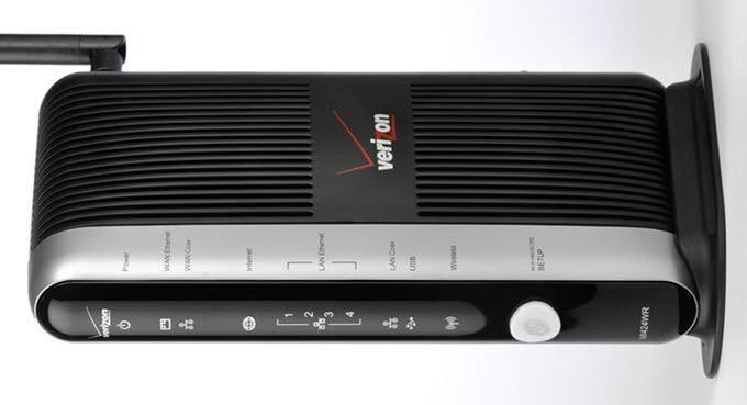 Actualice al enrutador FIOS Quantum Gateway para velocidades LAN más rápidas