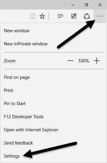 Cambiar el proveedor de búsqueda predeterminado en Microsoft Edge a Google