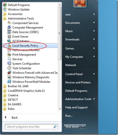 Cambiar la forma en que Windows solicita el modo de aprobación del administrador