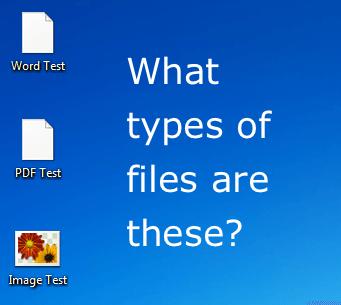 Cómo abrir un archivo sin extensión