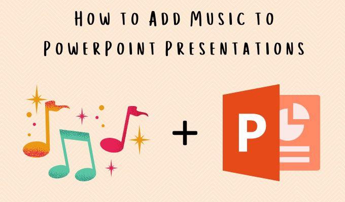 Cómo agregar música a presentaciones de PowerPoint
