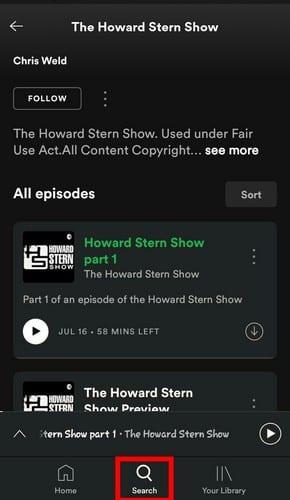 Cómo agregar un podcast a una lista de reproducción de Spotify