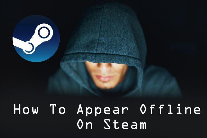 Cómo aparecer sin conexión en Steam