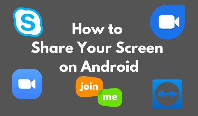 Cómo compartir tu pantalla en Android