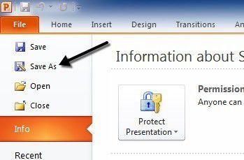 Cómo convertir PowerPoint a DVD, video y PDF