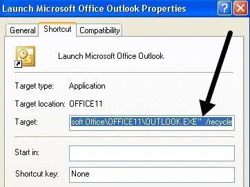 Atajo de Outlook