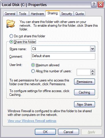 Cómo crear un recurso compartido de red oculto en Windows