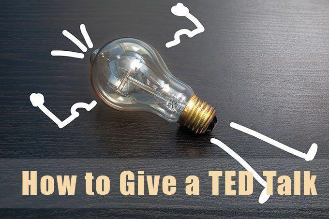 Cómo dar una charla TED