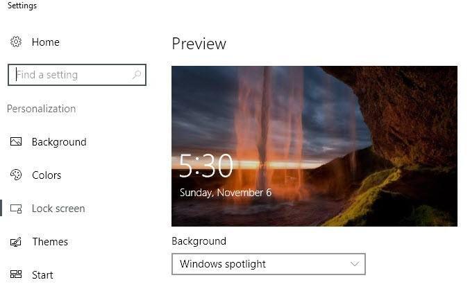 Cómo descargar imágenes desde Windows 10 Spotlight / Lock Screen